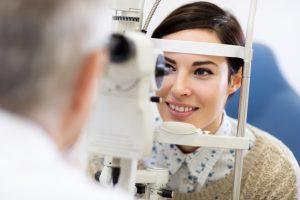 checkup for eye protection